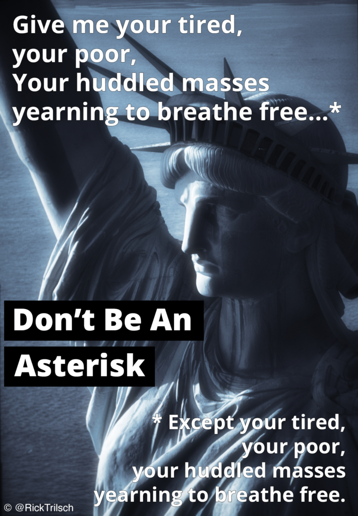 Don't Be an Asterisk
