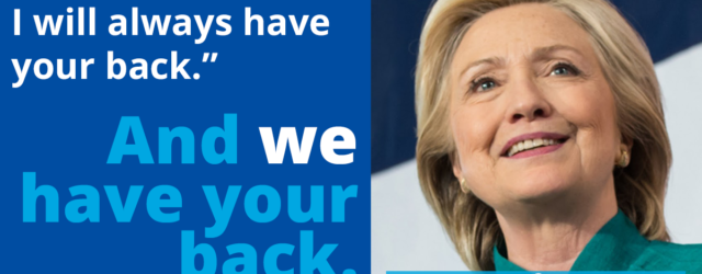 Hillary - I've Got Your Back